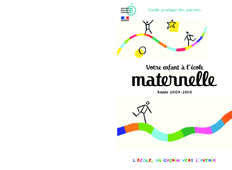Guide parents- Ecole maternelle